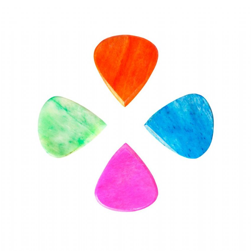 Jazzy Tones - Pack of 4 Guitar Picks | Timber Tones